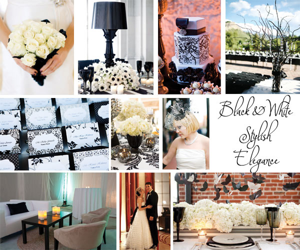 Inspiration Board: Black & White Stylish Elegance