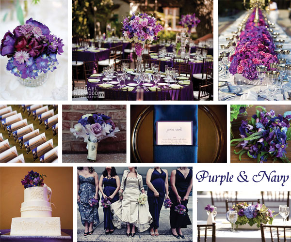 gorgeous color palette perfect for a garden or ballroom wedding