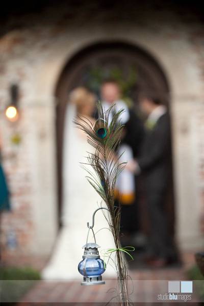 A Gorgeously Done Peacock Wedding