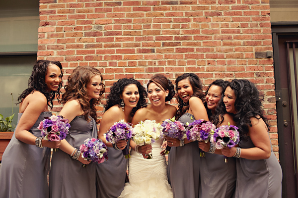 Purple Gray Seattle Wedding Every Last Detail Purple Gray Seattle