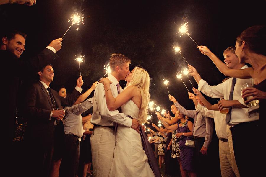 14 sparkler exit Rustic Vintage Tennessee Wedding