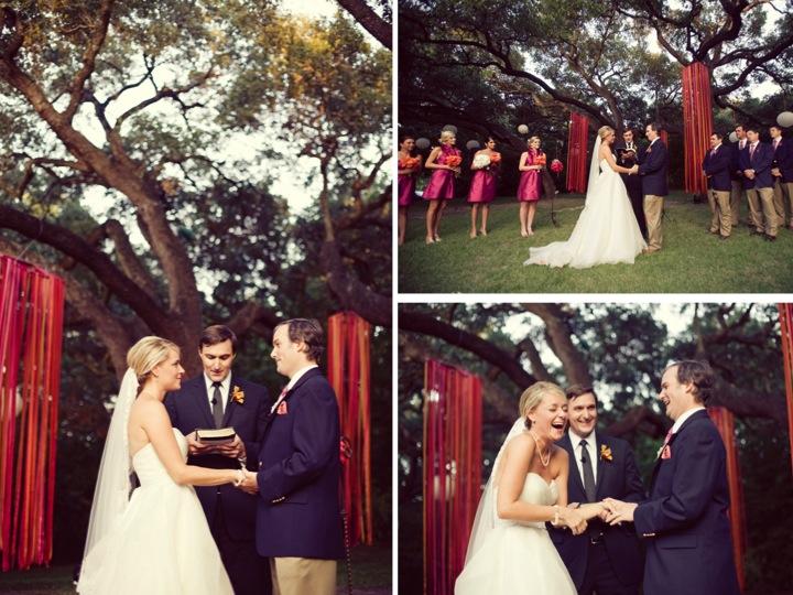 Pink Orange Whimsical Wedding Every Last Detail Pink Orange Whimsical