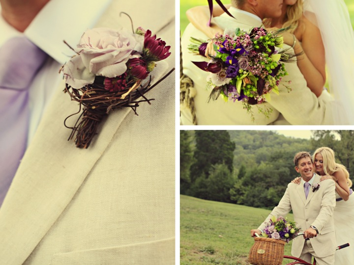 8 bout and bouquet Rustic Vintage Tennessee Wedding