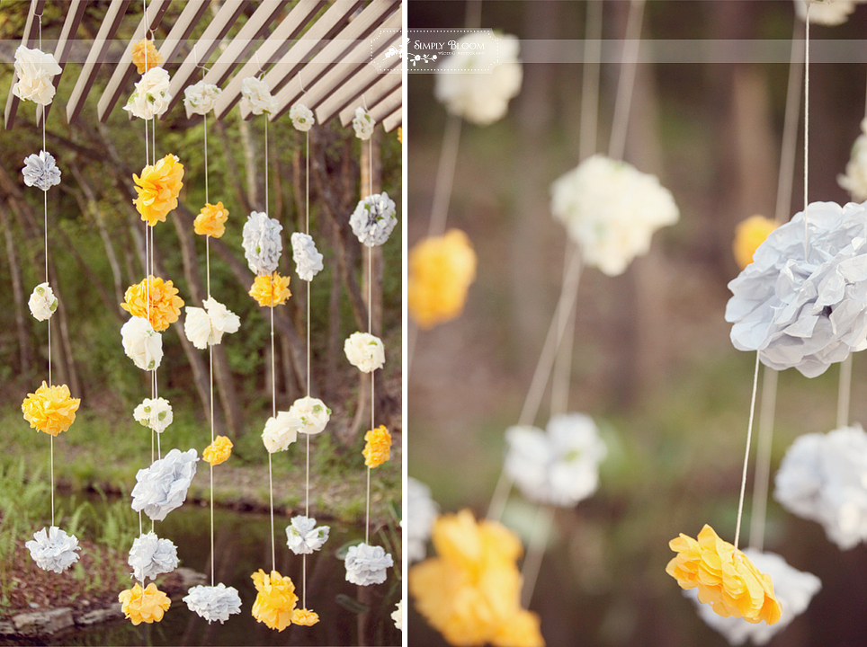 DIY Yellow Gray Texas Wedding Every Last Detail DIY Yellow Gray Texas