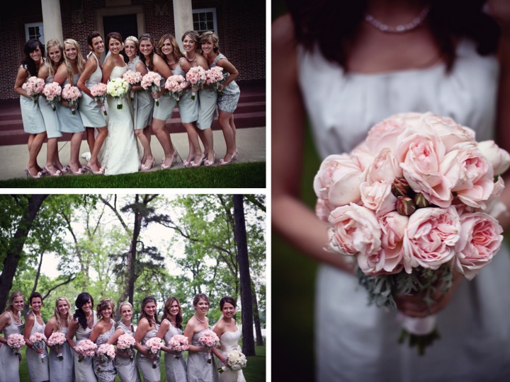 Pink And Gray Wedding On Pinterest