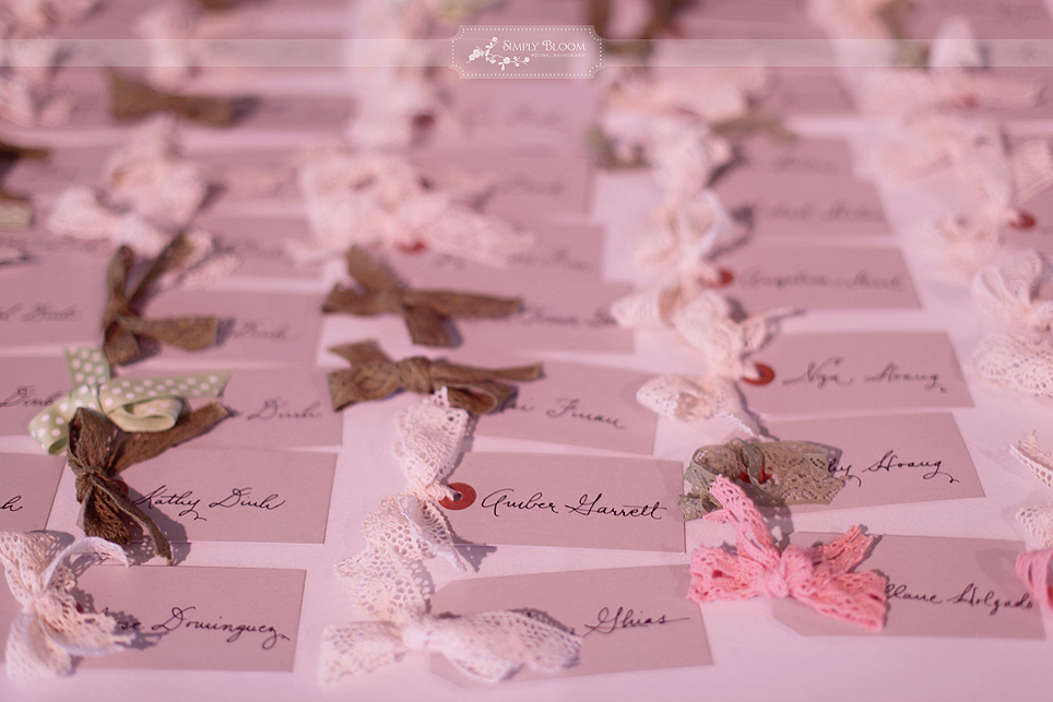 Detail To Love Escort Cards