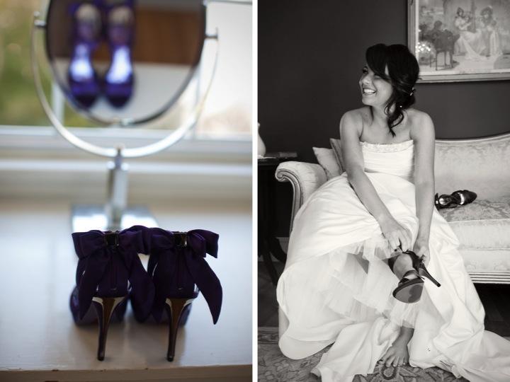 Purple & Green Persian Wedding via TheELD.com