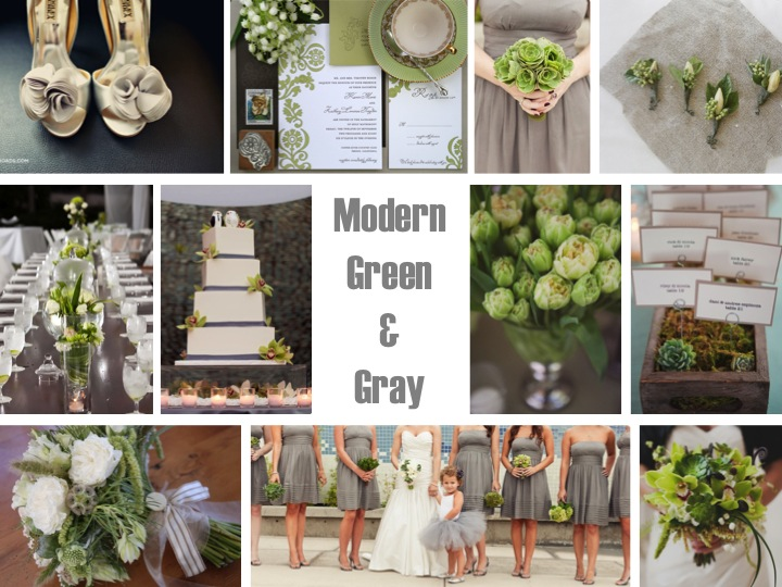 gray pear green and