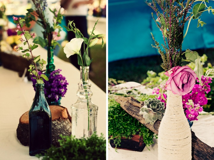 Eclectic Outdoor Wedding: Part 2 via TheELD.com