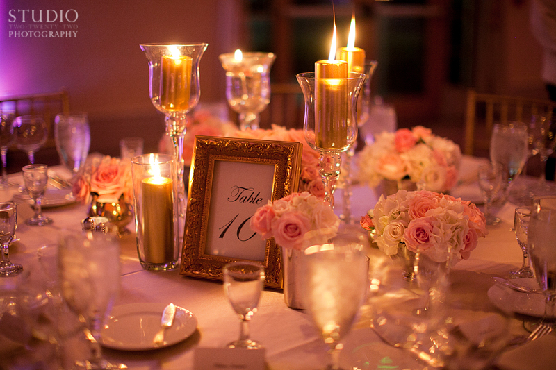 Pink Vintage Glam Wedding