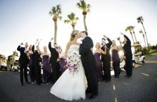 Purple Florida wedding 9