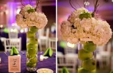 Purple and green wedding 15