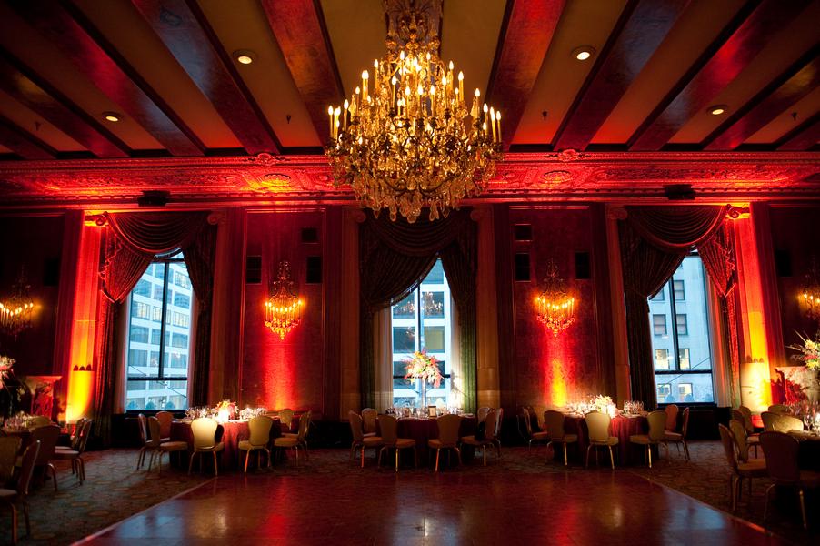 Elegant Red Chicago Wedding via TheELD.com