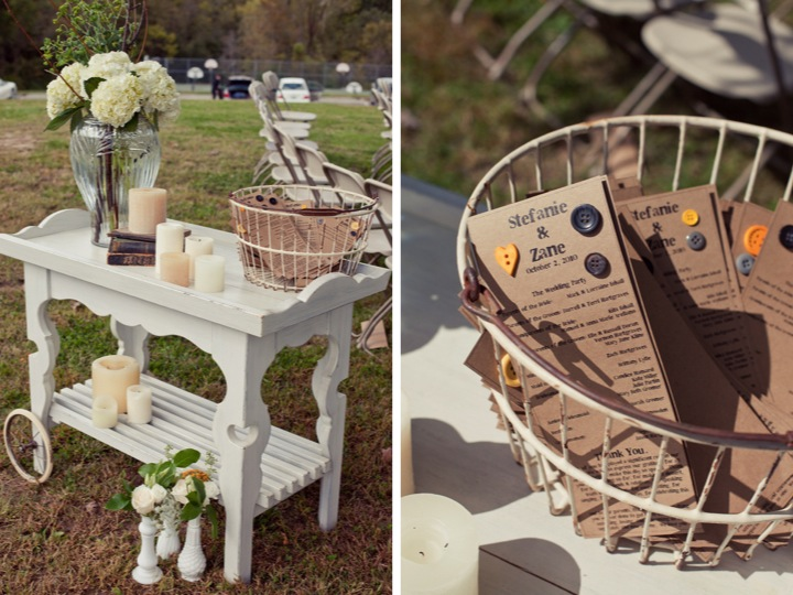 Yellow Amp Gray Outdoor DIY Wedding Part 1