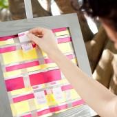 Pink, yellow, and gray wedding inspiration 11