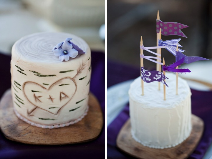 Purple Rustic Chic Inspiration Shoot