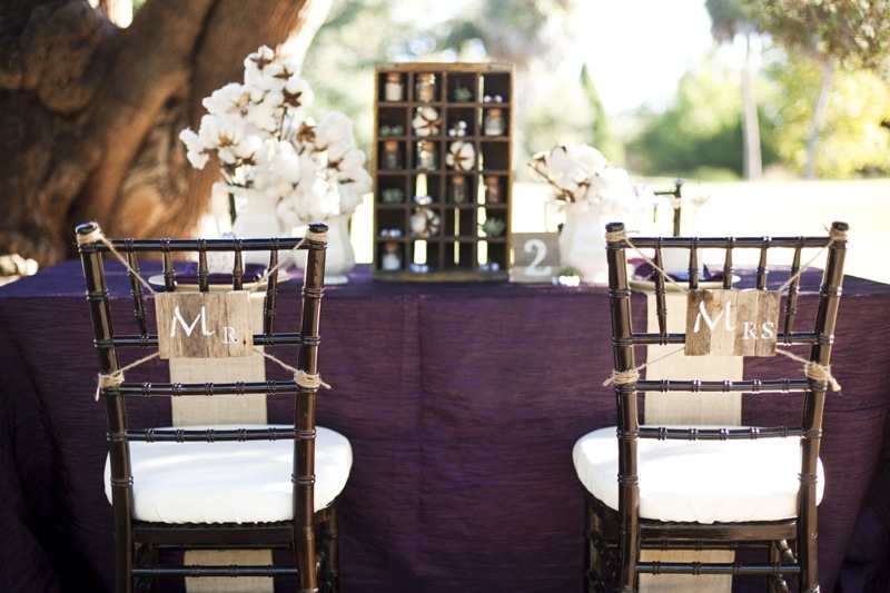 Purple Rustic Chic Inspiration Shoot Every Last Detail Purple Rustic Chic