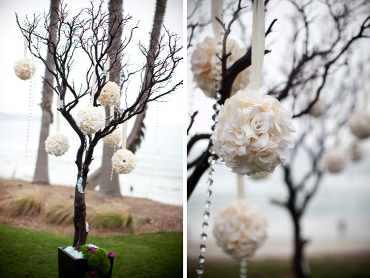 Modern Elegant Purple Wedding {Part 1} via TheELD.com