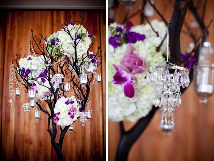 Modern Elegant Purple Wedding {Part 2} via TheELD.com