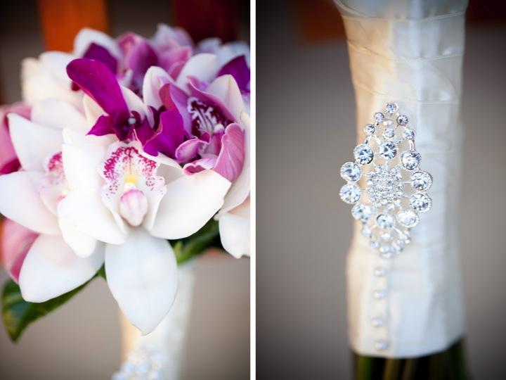Modern Elegant Purple Wedding {Part 1} via TheELD.com