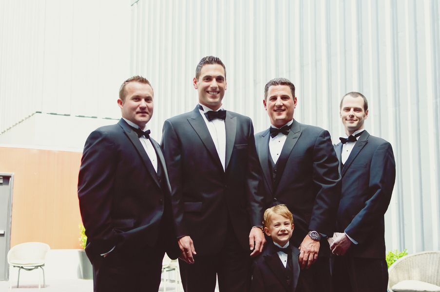Elegant Pink & Navy Wedding {Part 1}  via TheELD.com