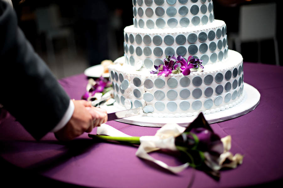 Modern Chic Purple Florida Wedding