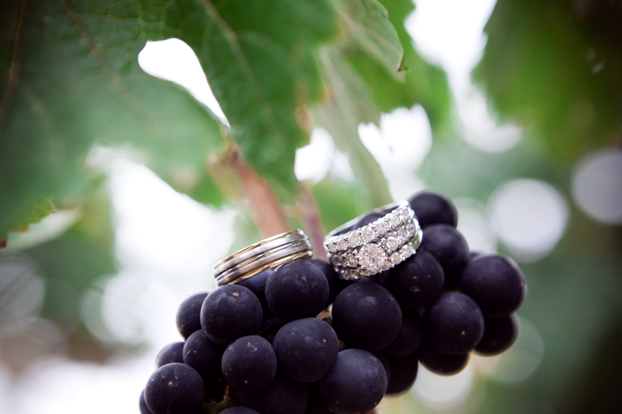 Rustic Glam Vineyard Wedding via TheELD.com