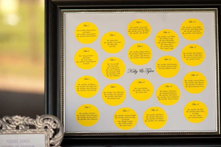 Yellow & Gray Texas Ranch Wedding via TheELD.com