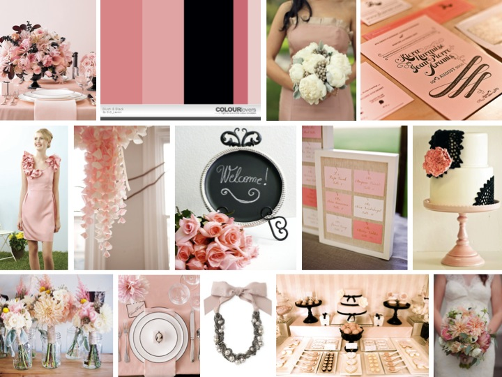 This board was inspired by the top left photo of the table and centerpiece