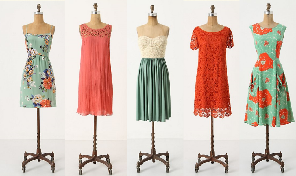Fashion Friday: Making Different Bridesmaids Dresses Look Polished via TheELD.com