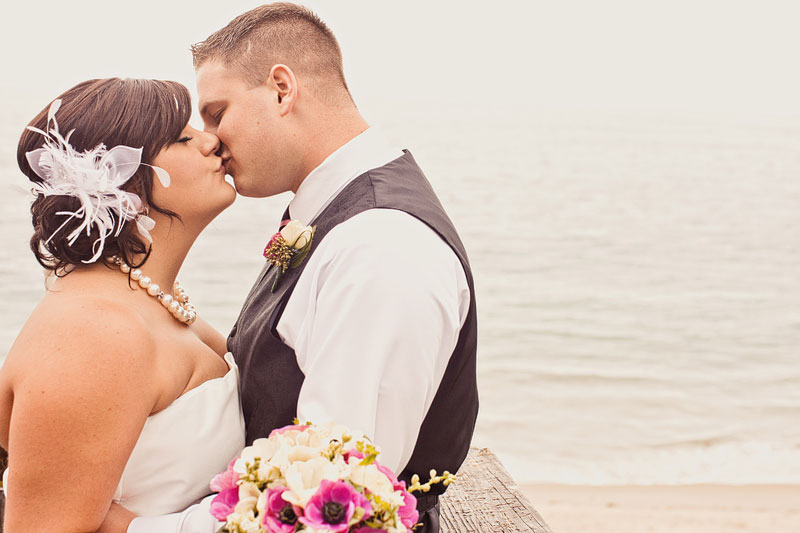 Pink & Black Modern Eclectic California Wedding via TheELD.com