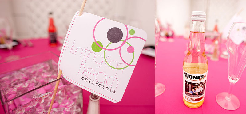 Pink & Black Modern Eclectic California Wedding via TheELD.com