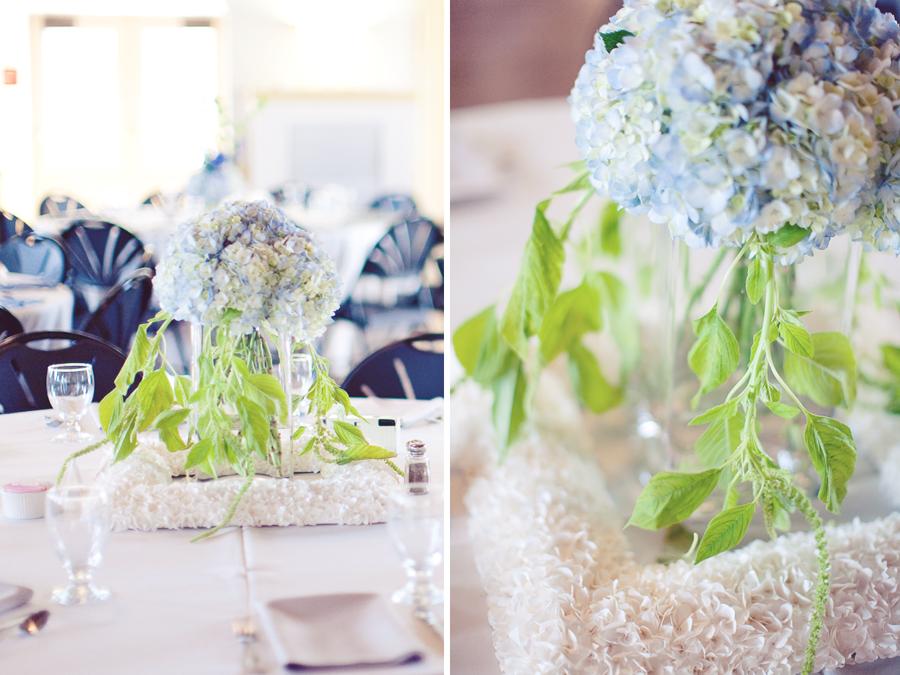 Blue & Green Garden Wedding via TheELD.com