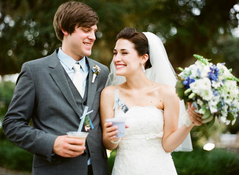Classic Blue Florida Wedding via TheELD.com