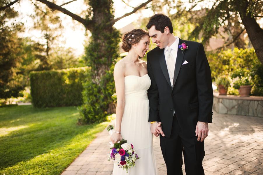 Pink & Navy Garden Wedding {Part 2}  via TheELD.com