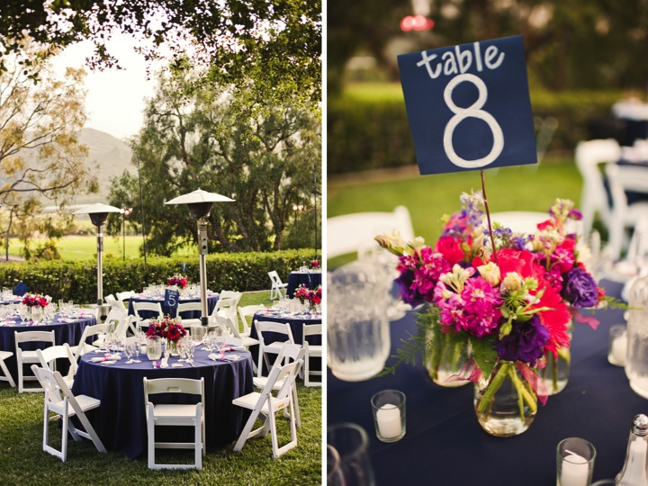 Oh and the table numbers that are PART of the centerpieces LOVE that