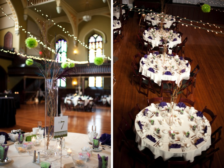 Purple & Green New York Wedding  via TheELD.com