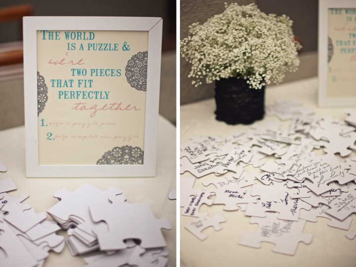 Detail To Love: Guest Message Puzzle  via TheELD.com