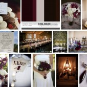 Chianti, brown and ivory inspiration board