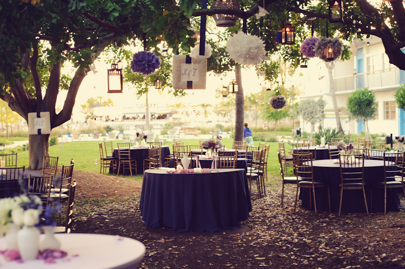 Eclectic Purple Wedding At The Postcard Inn {Part 2} via TheELD.com