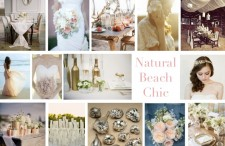 Natural Beach Chic Wedding Inspiration