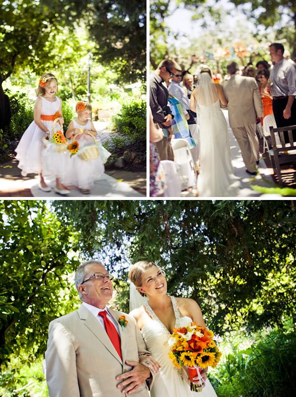 Colorful DIY San Luis Obispo Wedding via TheELD.com