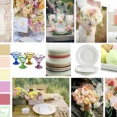 Sherbet Inspiration Board