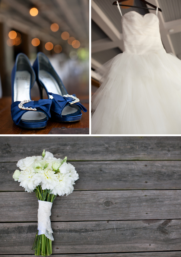 Classic Navy and Gray North Carolina Wedding