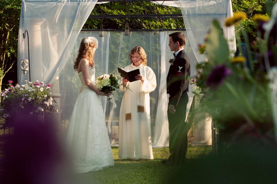 Vintage Eclectic South Carolina Wedding via TheELD.com