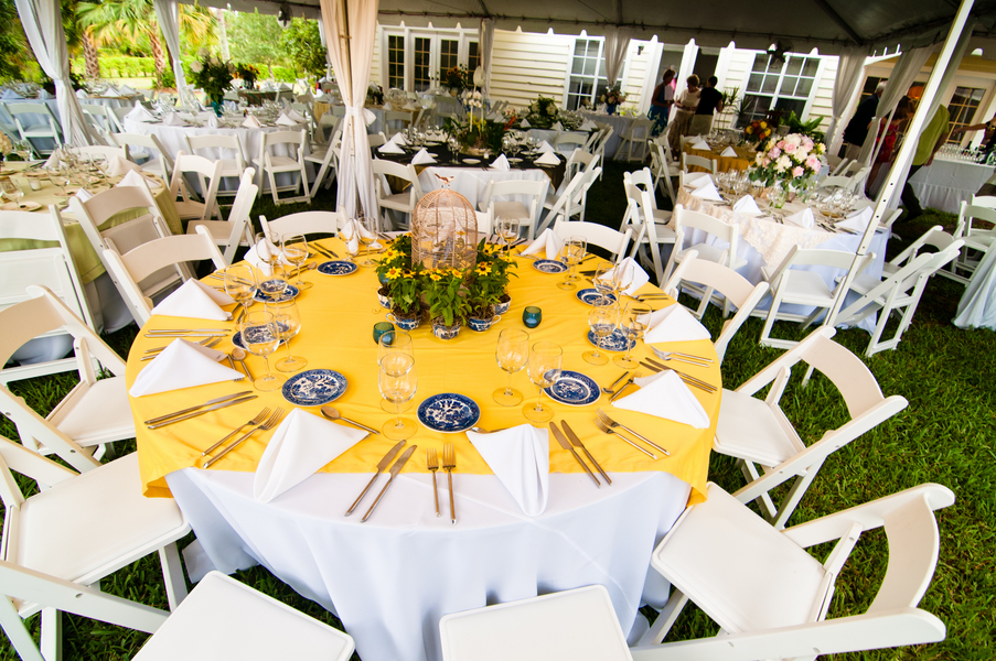 Eclectic DIY Backyard Wedding via TheELD.com