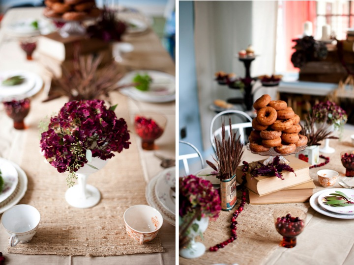 Happy Thanksgiving! Enjoy A Sweet Fall Tablescape!