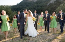 Green & Yellow California Ranch Wedding 13