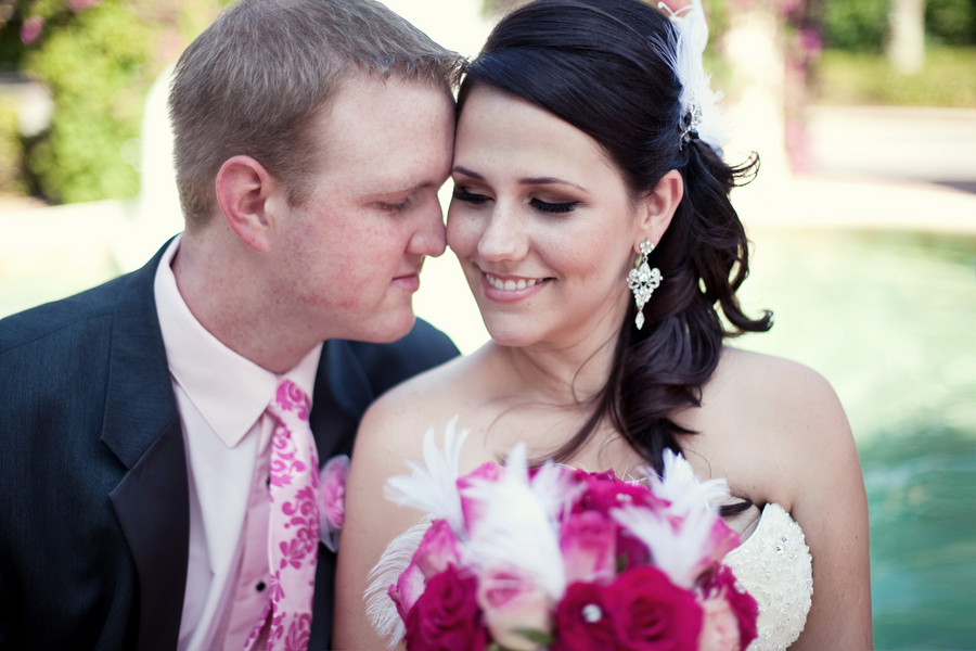 Stylish & Eclectic Pink Florida Wedding
