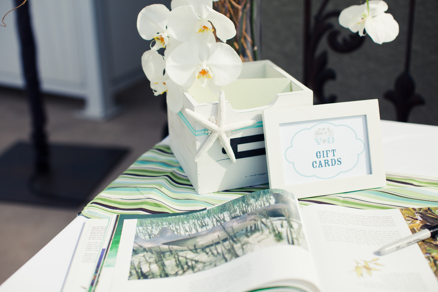 Modern White, Green & Aqua Wedding - Every Last Detail